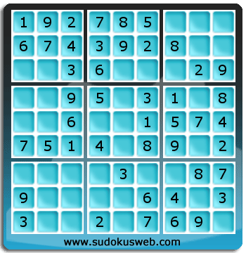 Very Easy Level Sudoku